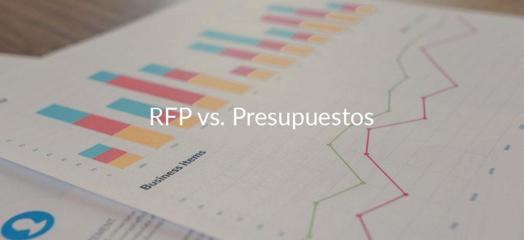 Diferencias entre presupuesto y solicitud de propuesta