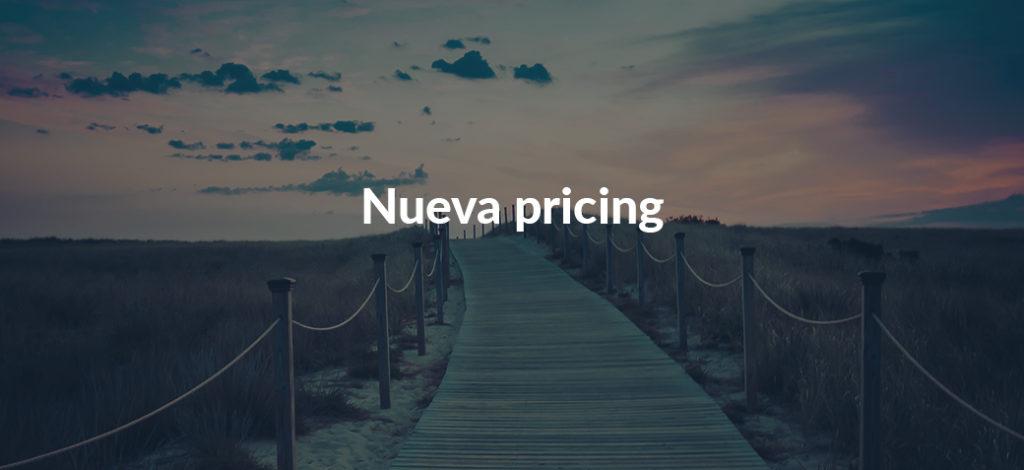 Año nuevo, nueva pricing