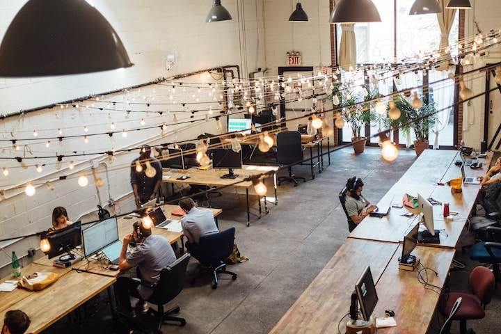 Freelance en un coworking